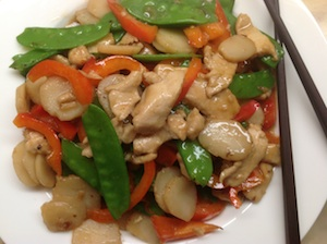 Chinese stir fried chicken vegetables forumfinder Image collections