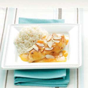 Apricot Almond Chicken