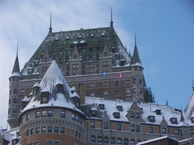 no visit to quebec city is complete with a stop at the historic fairmont le chateau frontenac fairmontcom which is perched atop a hill overlooking the